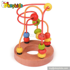 Top fashion educational wooden bead maze for toddlers W11B065