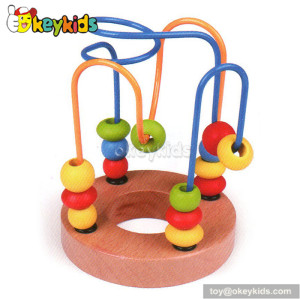 Top fashion educational wooden bead wire toy W11B067