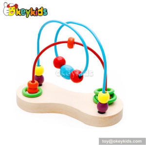 Top fashion educational toddlers wooden maze toys for toddlers W11B110