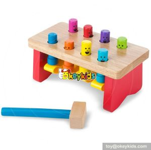 Most popular educational kids wooden pounding toy W11G020