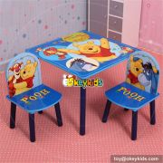 Best design Mickey mouse bedroom furniture wooden toddler table and chair set W08G148