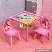 Best design bedroom furniture wooden kids desk and chair set W08G152