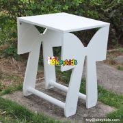 Best design bedroom furniture butterfly wooden activity table for kids W08G183