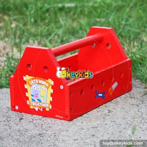 Best design educational diy wooden kids tool set W03D078