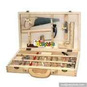 Best design kids educational toy box wooden tools toys W03D021