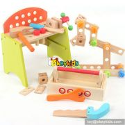 Best design kids educational toy wooden toy tools W03D045