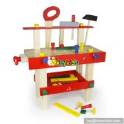 Best design toddlers educational toy wooden play tool set W13D012