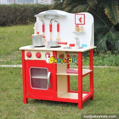 Creative children wooden kitchen toy set W10C133