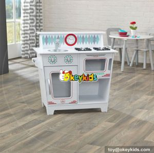 Cooking set toy children wooden pretend kitchen for sale W10C262