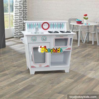 Cooking set toy children wooden pretend kitchen for sale W10C262