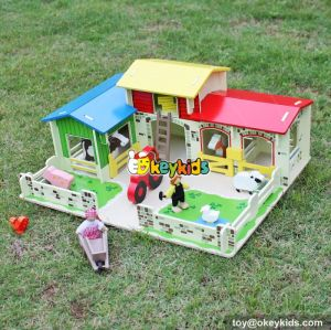 Okeykids Fancy children green wooden farm toys for sale W06A167