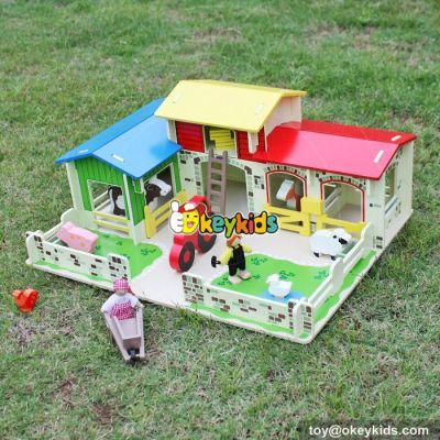 Okeykids Fancy children green wooden farm toys for sale W06A167
