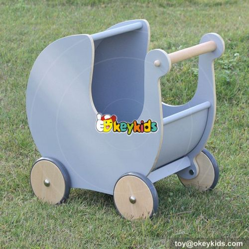 Okeykids gadgets storage push along solid wooden baby walker W16E062