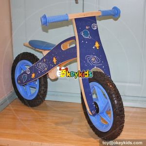 New design best children wooden balance bike without pedals W16C112