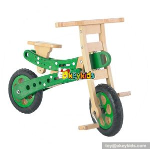 Best design kids preschool wooden strider bike W16C151