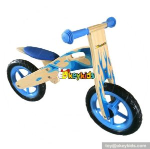 Best design preschool balance wooden kids push bike W16C104