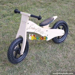 Best design preschool balance wooden toddler bike no pedals W16C155