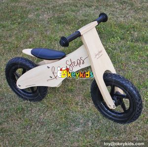 Best design preschool balance wooden small balance bike for kids W16C156