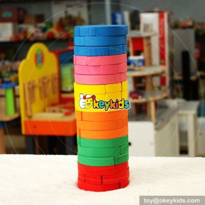 New design children wooden stacking toys for babies W13D119