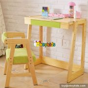 High quality cartoon bedroom furniture wooden kids study table W08G156A