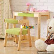 Best design kids home furniture wooden children study table W08G157A
