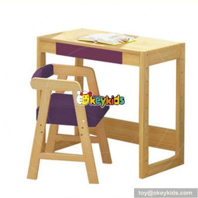 Wholesale cheap children home furniture wooden study table for sele W08G157C