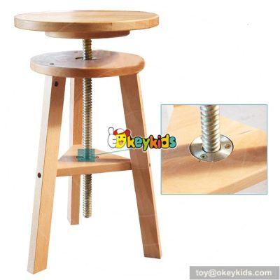 Wholesale cheap children home furniture wooden kids high chair W08G147