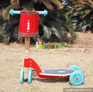 New design 2 wheels balance wooden kids scooter W16B004