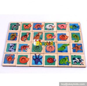 Top fashion kids wooden jigsaw puzzle W14A148