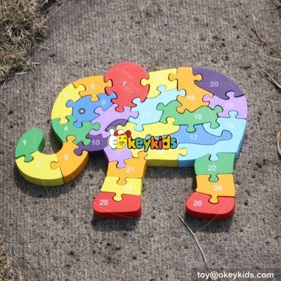 Preschool best 3d wooden puzzle W14A154