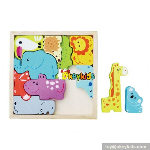 Okeykids Early education animal puzzle wooden kids puzzle W14A156