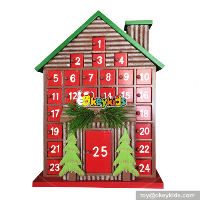 Top fashion surprise gifts wooden boys advent calendar W02A187