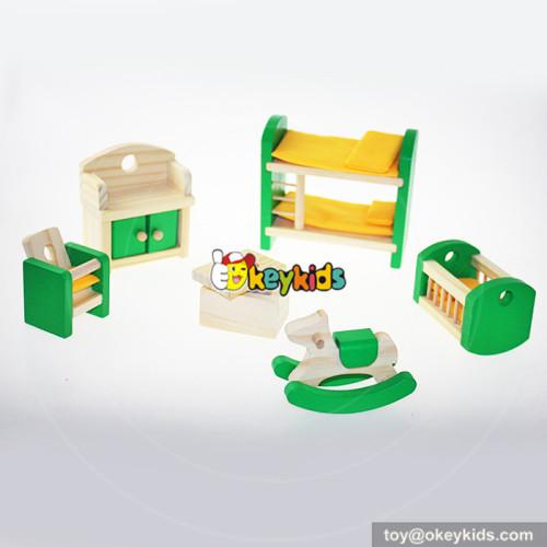 10 Best babies living room wooden dolls house miniature furniture for kids online W06B028