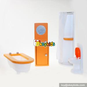 10 Best kids living room wooden miniature dollhouse furniture for sale online W06B030