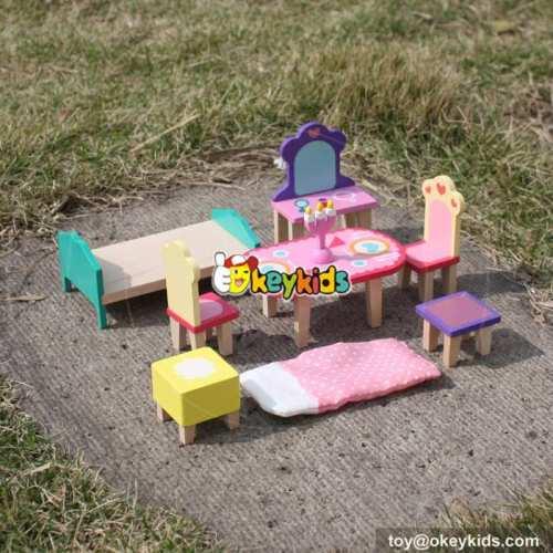 10 Best children pretend play toys wooden dolls house accessories sale online W06B044