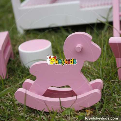 10 Best children pretend play toys wooden dollhouse furniture for kids online W06B046