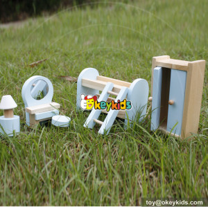 10 Best toddlers pretend play toys wooden doll miniature furniture for sale online W06B048