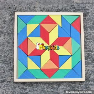 2017 new design wooden puzzles for kids educational wooden puzzles for kids W14A182