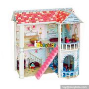 10 Best firls multi-Level wooden diy doll house kits for sale W06A241