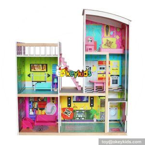 10 Best handmade large wooden girls doll houses for sale W06A246