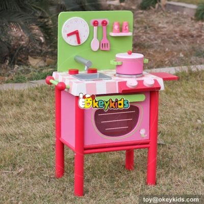 Okeykids 10 Best Toys & Games wooden girls play kitchen with accessories W10C269