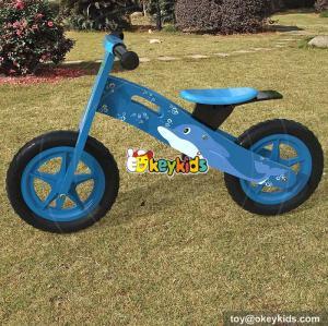 New original work wooden best balance bike for boys W16C171