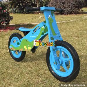 Wholesale best cartoon wooden kids balance bike for sale W16C172