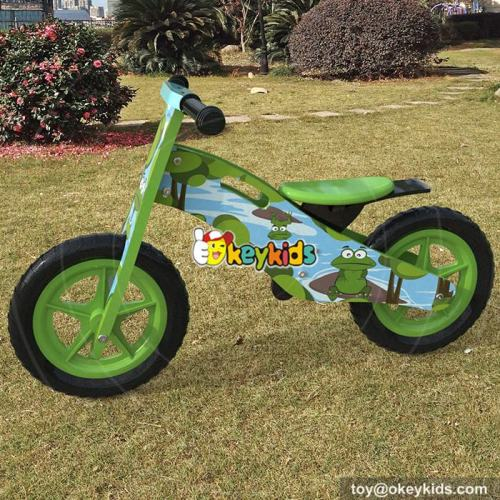 Wholesale best children exercise walker wooden balance bike for 2 year old W16C175