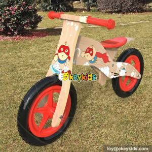 Wholesale best children exercise walker wooden girls balance bike for sale W16C176
