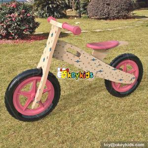 Wholesale best children exercise walker wooden push bike for sale W16C177