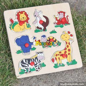 wholesale high quality kids wooden puzzle cheap wooden puzzle W14M087