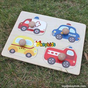 wholesale best sale children wooden toy puzzle cheap baby wooden toy puzzle W14M090
