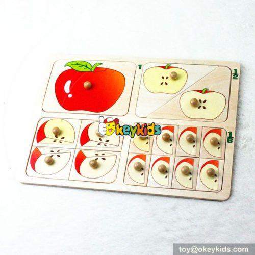 wholesale fashion children wooden intelligence toy cheap baby wooden intelligence toy W14M096
