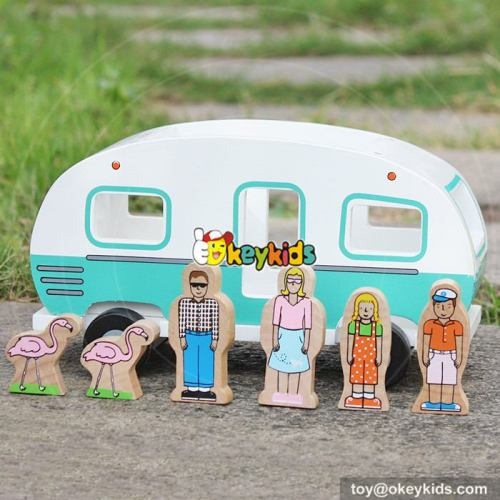 Okeykids Best design people and animals wooden toy cars for kids W04A313